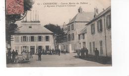 CHERBOURG -  Caserne Martin Des Pallières 5° Régiment D'Infanterir Coloniale (pli Bas Gauche) - Cherbourg