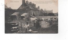 Environs De Cherbourg - Une Assemblée Au Becquet- Les Rôtisseurs De Moutons (pli Bas Gauche) - France