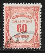 N° 48  FRANCE - TAXE OBLITERE -  RECOUVREMENTS - Postage Due