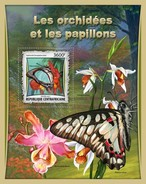 Centraal Afrikaanse Republiek / CAR - Postfris / MNH - Sheet Butterflies 2017 - Centraal-Afrikaanse Republiek