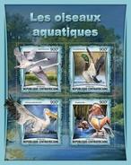 Centraal Afrikaanse Republiek / CAR - Postfris / MNH - Sheet Watervogels 2017 - Centraal-Afrikaanse Republiek