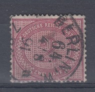 DEUTSCHES REICH USED MICHEL 37 1891 - Allemagne