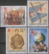 Yugoslavia (Serbia And Montenegro) 2004 Definitive - 1st Serbian Uprising, MNH (**) Michel 3183-3186 - Serbia
