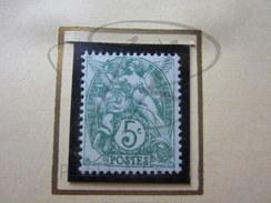 VEND BEAU TIMBRE DE FRANCE N° 111 , XX !!!! - 1900-29 Blanc