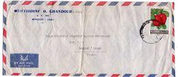 Liban--lettre De Beyrouth  Pour ROANNE (France)--timbre Seul Sur Lettre-personnalisée MUHYIDDINE & GHANDOUR - Liban
