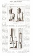 NOUVELLES LAMPES GRISOUMETRIQUES  De M. G. CHESNEAU Et De M. F. CLOWES   1893 - Sciences & Technique