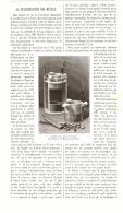 LA PULVERISATION DES METAUX   1893 - Sciences & Technique