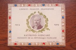 Rare Calendrier Distribué Au Mess Officier à Haguenau En 1919 Alsace Plébiscite - Calendriers