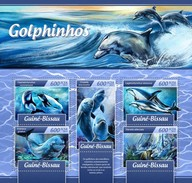 Guinee Bissau - Postfris / MNH - Sheet Dolfijnen 2017 - Guinea-Bissau