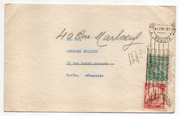 Colombie-1939--lettre De BOGOTA  Pour PARIS (France)--timbres Sur Lettre-cachet Mécanique+cachet PARIS IX - Colombie