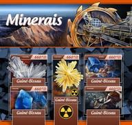 Guinee Bissau - Postfris / MNH - Sheet Mineralen 2017 - Guinea-Bissau