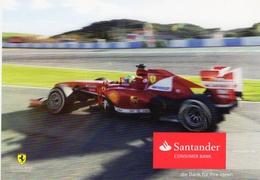 Ferrari Grand Prix  -  Fernando Alonso   -  Carte Postale (Promo) - Grand Prix / F1