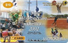 Micronesia - FSMTC - 5th Micronesian Games - FSM-R-035 - 10$ Remote Mem. Used