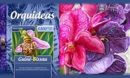 Guinee Bissau - Postfris / MNH - Sheet Orchideen 2017 - Guinea-Bissau