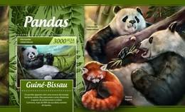 Guinee Bissau - Postfris / MNH - Sheet Pandas 2017 - Guinea-Bissau
