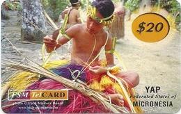 Micronesia - FSMTC - Dress Making - FSM-R-168 - 20$ Remote Mem. Used