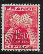 N° 71  FRANCE - TAXE OBLITERE - - 1859-1955 Oblitérés