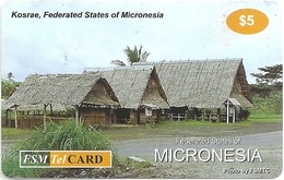 Micronesia - FSMTC - Kosrae - FSM-R-098 - 5$ Remote Mem. Used