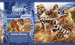 Guinee Bissau - Postfris / MNH - Sheet Tijgers 2017 - Guinea-Bissau