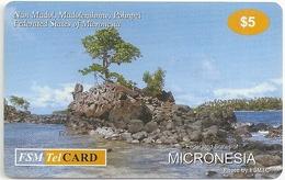 Micronesia - FSMTC - Nan Madol - FSM-R-106 - 5$ Remote Mem. Used