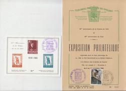 50eme Anniversaire De La Victoire 1918 - Timbres
