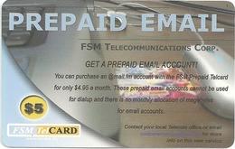 Micronesia - FSMTC - Prepaid Email - FSM-R-116 - 5$ Remote Mem. Used