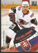 Hockey Collectibles KHL Se Real Card RASTISLAV SPIRKO H/F #11 Slovakia Avtomobilist Yekaterinburg 5th Season 2012-2013 - 2000-Now