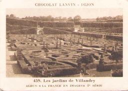Chocolat Lanvin Image 459 Les Jardins De Villandry - Vieux Papiers
