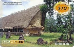 Micronesia - FSMTC - Tomil Community - FSM-R-128 - 10$ Remote Mem. Used