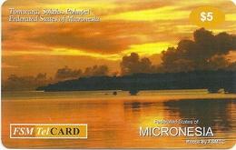 Micronesia - FSMTC - Tomwara - FSM-R-129 - 5$ Remote Mem. Used - Micronesia