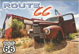 Route 66 (Texas) Belle Carte Postale Adressée ANDORRA, Avec Timbre à Date Arrivée - Route '66'