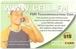 Micronesia - FSMTC - Www.CELL.Fm - FSM-R-079 - 10$ Remote Mem. Used