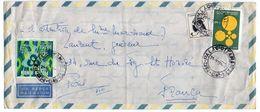 Brésil --1970--lettre Pour PARIS (France)--timbres Sur Lettre-cachets Ronds - Brésil