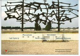 DACHAU: Concentration Camp Memorial, Adressée ANDORRA, Avec Timbre à Date Arrivée - Histoire