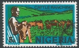 Nigeria. 1973 Definitives. 5k Used. SG 292a - Nigeria (1961-...)