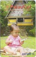 Palau - PalauCel - Baby Wih Mobile, Airtime 10$, Used - Palau