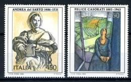 1986 -  Italia - Italy -  Catg. Sass. 1787/88 - Mint - MNH - - 6. 1946-.. Republic