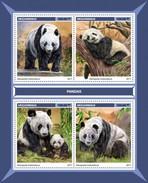 Mozambique - Postfris / MNH - Sheet Panda's 2017 - Mozambique