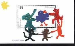 Bund Block 64 Für Uins Kinder ** Postfrisch, MNH, Neuf - [7] West-Duitsland