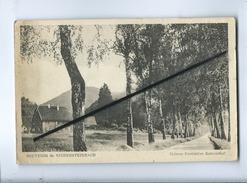 CPA Abîmée - Souvenir De Niedersteinbach - Maison Forestière Katzenthal - France