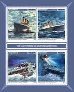 Mozambique - Postfris / MNH - Sheet Titanic 2017 - Mozambique