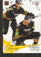 Hockey Sport Collectibles KHL Se Real Card IGOR IGNATUSHKIN NIKOLAI ZHERDEV 5th Season 2012-2013 - Singles