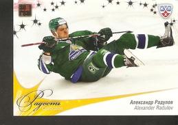 Hockey Sport Collectibles KHL SeReal Card ALEXANDER RADULOV Playoffs 2009/10 Salavat Yulaev Ufa Ak Bars Kazan 5th Season - 2000-Now
