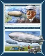 Mozambique - Postfris / MNH - Sheet Zeppelin 2017 - Mozambique