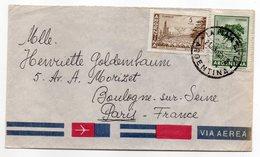 Brésil ----lettre De LA PLATA  Pour Boulogne / Seine-92-(France)--timbres Sur Lettre- Cachet - Argentine