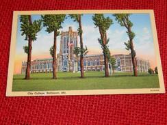 BALTIMORE  -  City College - Baltimore