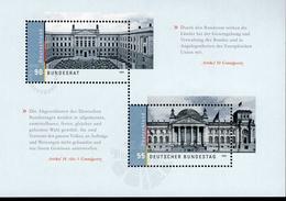 Bund Block 76 Bundestag Und Bundesrat ** Postfrisch, MNH, Neuf - [7] West-Duitsland