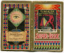 CALENDARIETTO SUPER IRIDE DITTA RUGGERO BONELLI PRATO TOSCANA ANNO 1927 - Calendari