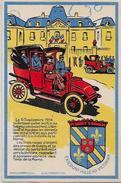 CPA Marne Reims Taxis Guerre 14-18 Kaiser Germany Circulé Voir Scan Du Dos Gagny - Heimat