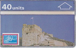 03 TARJETA DE GIBRALTAR DE MOORISH CASTLE (NUEVA-MINT) - Gibraltar